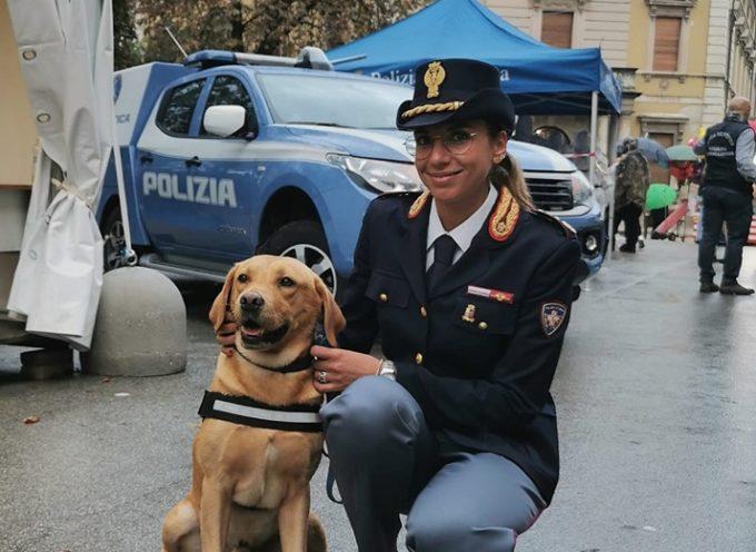 Prima giornata dei Lucca Comics and Games, Polizia di Stato presente nello stand dedicato,