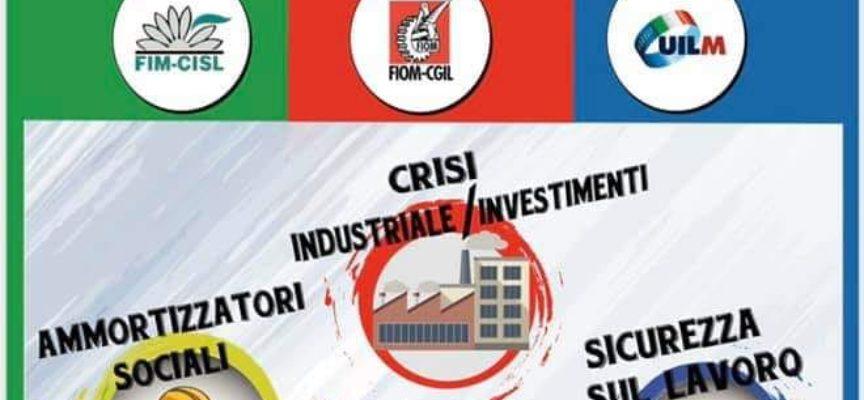 giovedì 31 ottobre due ore di sciopero generale della categoria dei metalmeccanici