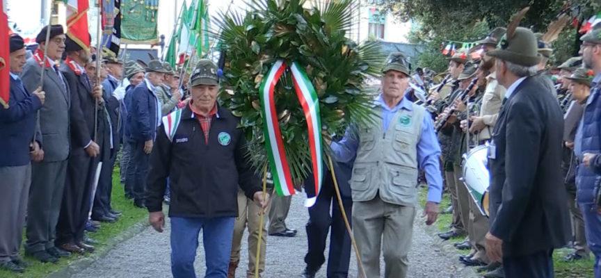 Il gruppo Alpini di Castelnuovo ha festeggiato 90 di storia