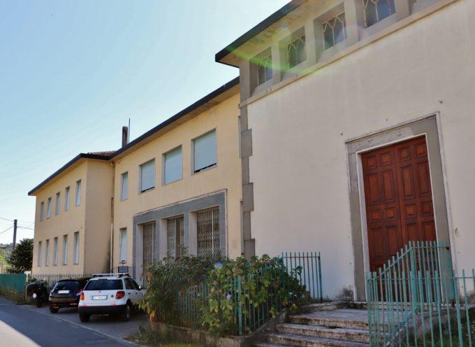 """SCUOLE LUCCA: in corso d'opera i lavori di adeguamento dell'edificio dei frati, a Saltocchio, che ospiterà 11 classi del """"Giorgi"""""""