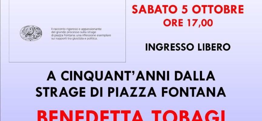 """Museo Storico della Resistenza di Sant'Anna – Benedetta Tobagi presenta il libro """"Piazza Fontana, il processo impossibile"""""""