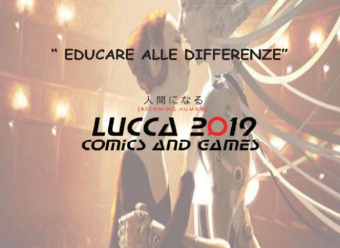 """LUCCA COMICS E PARI OPPORTUNITA' – STAND DELLA PROVINCIA AL FAMILY PALACE SUL PROGETTO """"EDUCARE ALLE DIFFERENZE"""""""