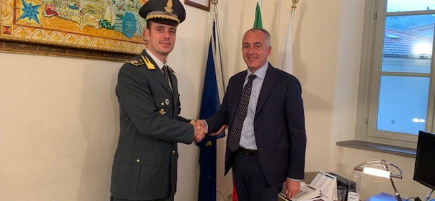 Visita ufficiale del Comandante Maggiore della Guardia di Finanza