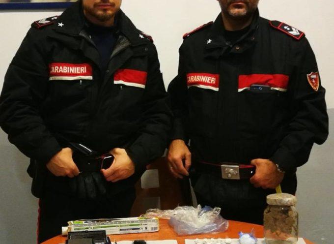 Un cittadino marocchino di anni 33 è stato tratto in arresto dai Carabinieri per detenzione ai fini di spaccio di stupefacenti.