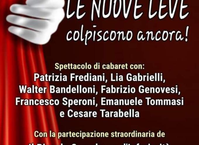 """Pro Loco Seravezza – """"Le Nuove Leve colpiscono ancora"""". Il 26 ottobre l'irriverente compagnia dialettale seravezzina vi aspetta al Teatrino Delatre!"""
