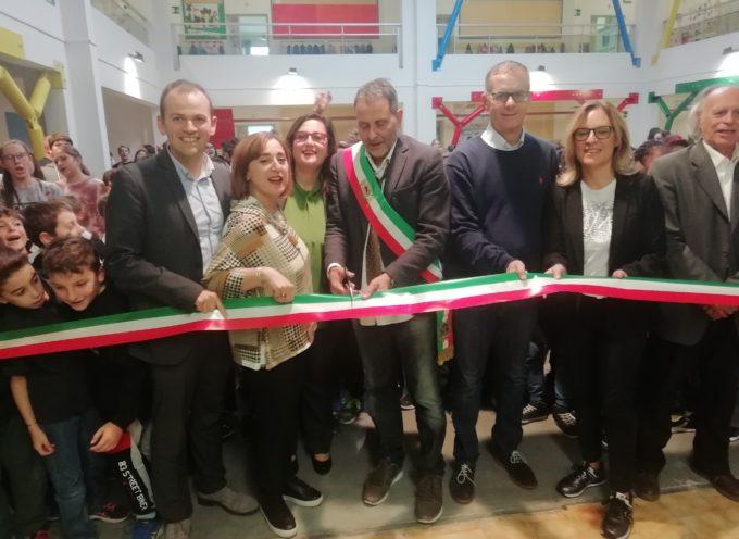 Una scuola in festa per l'inaugurazione dei lavori di adeguamento sismico agli Alberghi di Pescia