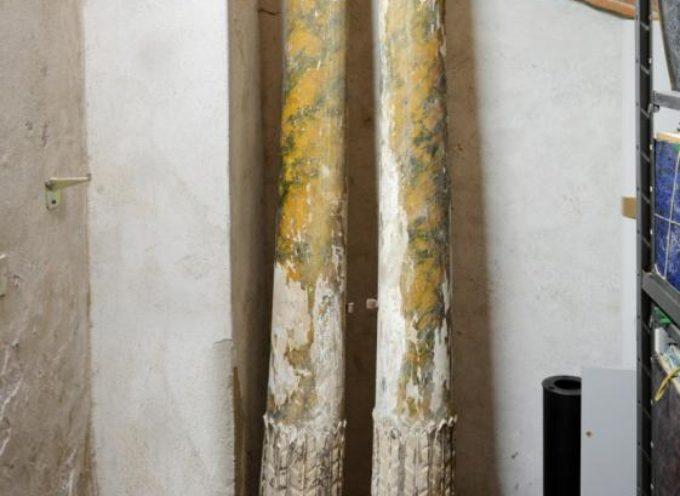 """LUCCA – """"Due colonne uniche in Europa, dal ritrovamento al restauro"""""""