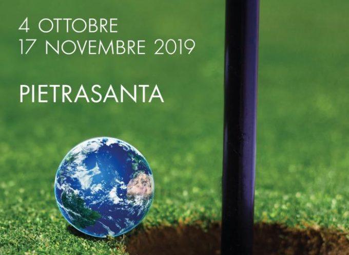 "PIETRASANTA – MOSTRA-MOBILITAZIONE IN DIFESA AMBIENTE, APRE IN MUNICIPIO ""SAVE THE GREEN"" DI MICHELE BERTELLOTTI"
