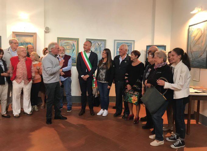 Inaugurata a Bargecchia la mostra di Vincenzo Bonuccelli