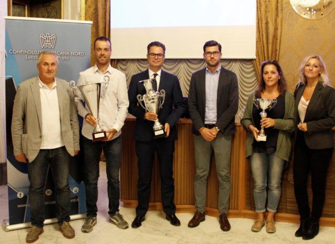 Trofeo Industria del ventennale, i vincitori premiati oggi da Confindustria Toscana Nord