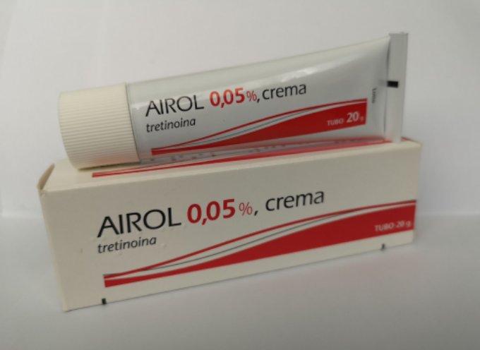Ritirati 4 lotti della crema anti acne Airol