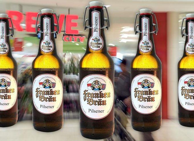 Allerta UE per birra tedesca con detergenti. Scatta il ritiro di 17 birre della Franken Bräu.
