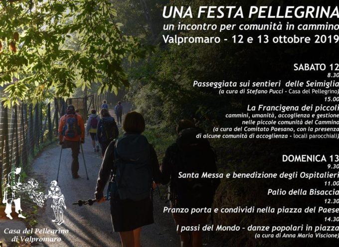 Festa Pellegrina, 12/13 ottobre a Valpromaro