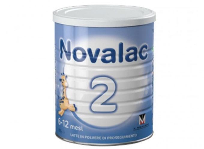 Ritirati 4 lotti di latte in polvere per neonati NOVALAC 2.