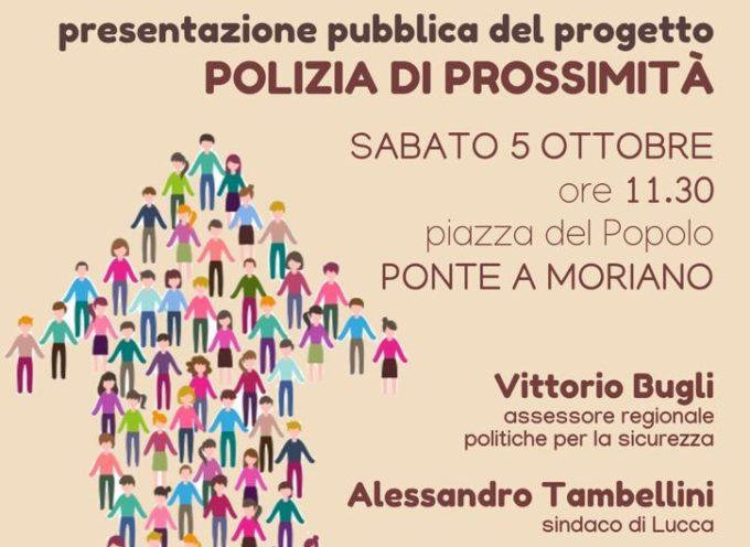 a Ponte a Moriano presentazione del progetto della nuova Polizia Municipale
