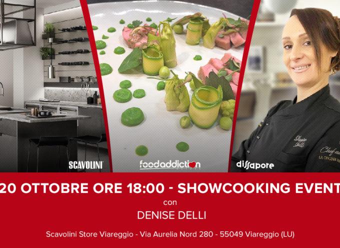 tradizione toscana rivisitata a Viareggio con l'ex concorrente di Masterchef Denise Delli