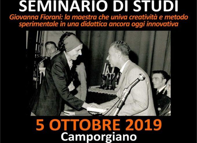 Seminario di Studi – Giovanna Fiorani: l'arte di fare la maestra A Camporgiano
