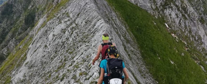 Escursione sul monte Roccandagia–ALPI APUANE