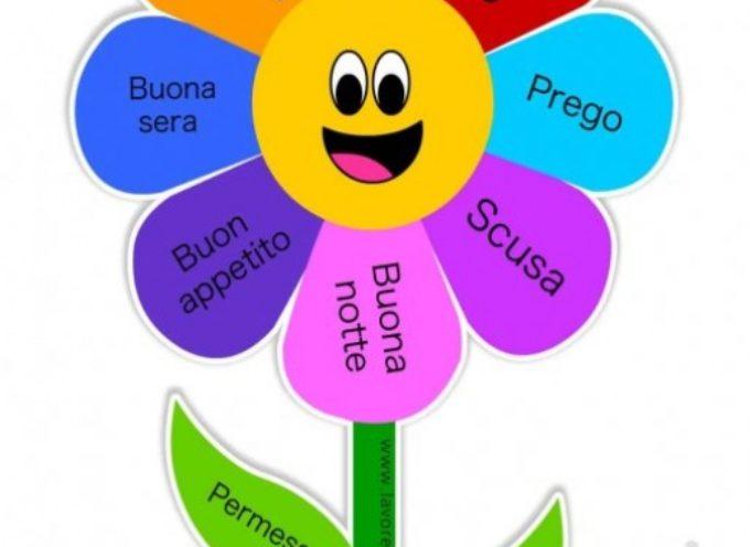 Educazione: assessore gentilezza offre fiore delle parole gentili ai bambini scuole, l'iniziativa nella giornata mondiale