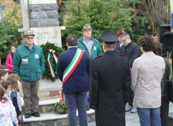 4 Novembre: 101 anni fa la fine della Grande Guerra, anche piccoli studenti a celebrazione a Tonfano