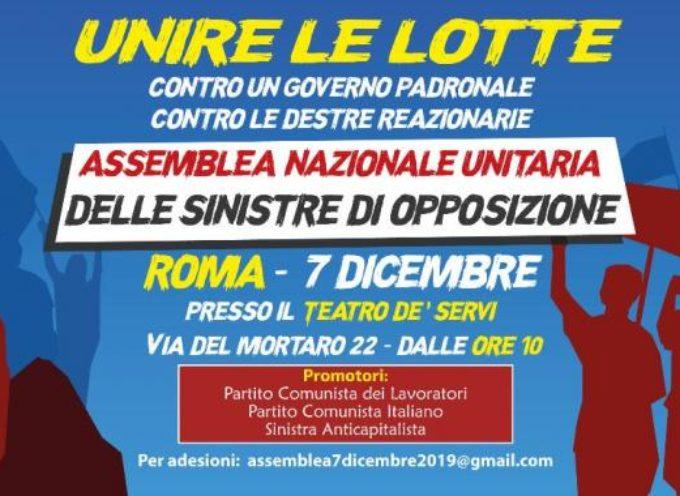 Al Cantiere Sociale ci si organizza per l'Assemblea Nazionale Unitaria, a Roma, contro il Governo