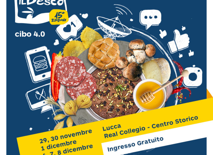 DORMIRE CON GUSTO: UN TALK E COOKING SHOW AL DESCO DI LUCCA