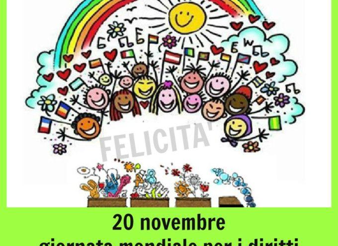 Pescia celebra la giornata mondiale dei diritti dell'infanzia e dell'adolescenza