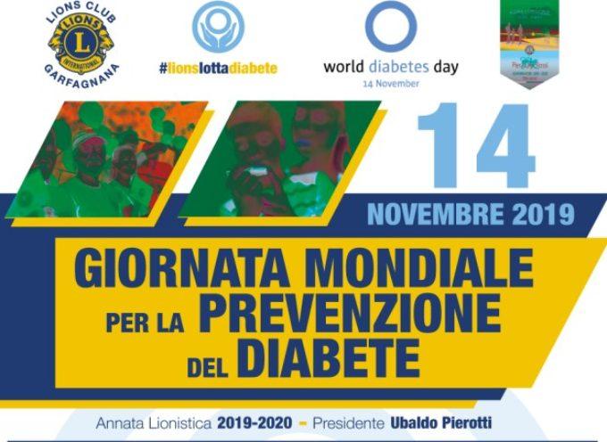 Anche il Lions Club Garfagnana è sceso in campo per il…diabete