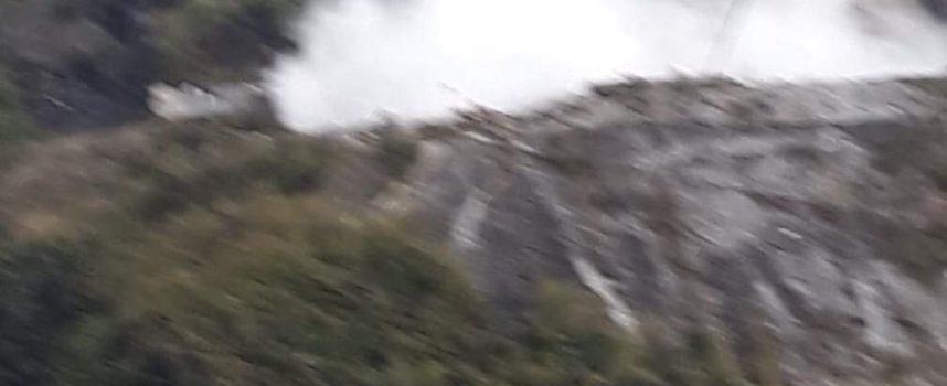 Seravezza – Frana sul Monte Costa, documentazione fotografica all'interno