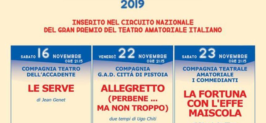 """al Teatro Comunale """"Idelfonso Nieri"""": prima serata della final three della prima edizione del GRAN PRIX TOSCANA 2019."""