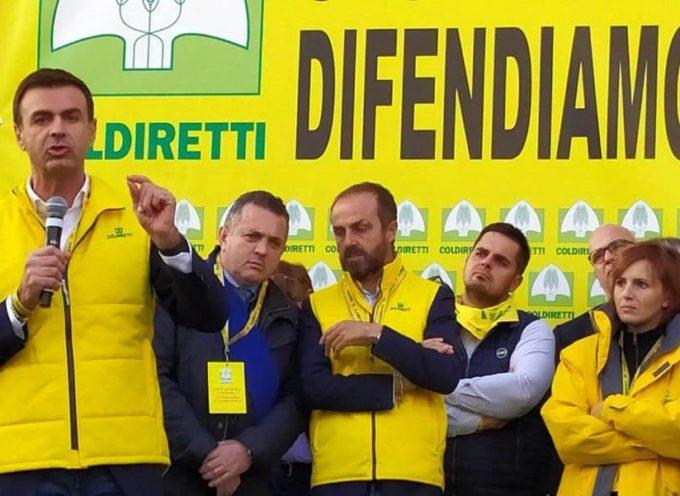 LA COLDIRETTI DI LUCCA A ROMA, PROTESTA CINGHIALI