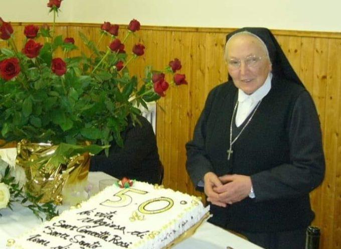 PORCARI – Suor Concetta ci ha lasciato oggi, all'età di 85 anni.
