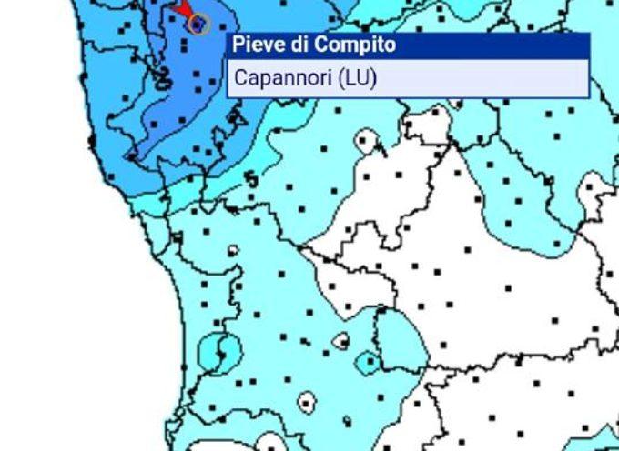 A PIEVE DI COMPITO IERI E PIOVUTO DAI 30/40 MM FONTE METEOINTOSCANA