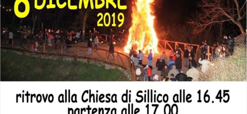 FIACCOLATA DI NATALE  DOMENICA 8 DICEMBRE A SILLICO