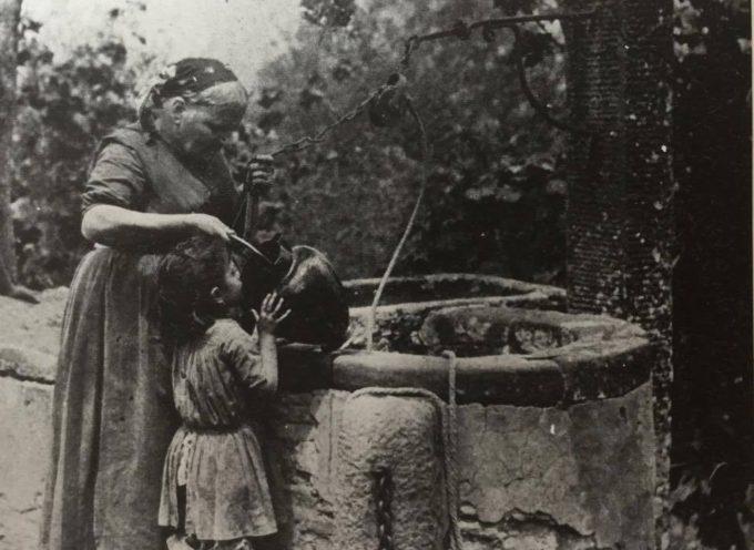 Al pozzo…per prendere l'acqua