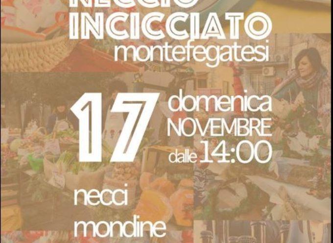 Tradizionale Festa del NECCIO INCICCIATO alimento tipico della tradizione di Montefegatesi..
