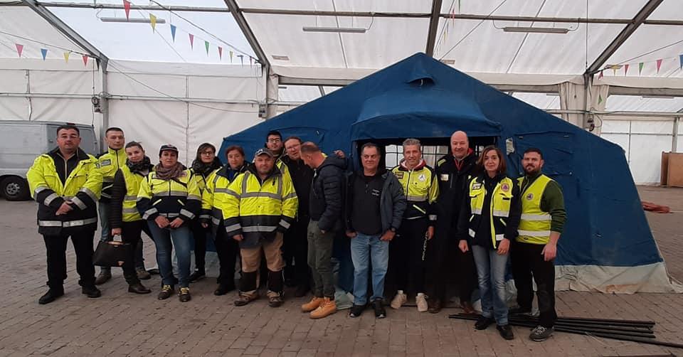 la protezione civile di Castelnuovo ringrazia il comune di Viareggio - Verde Azzurro Notizie