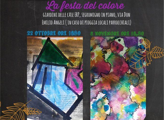 L'incontro laboratoriale ' La Festa del colore' organizzato da Artebambini