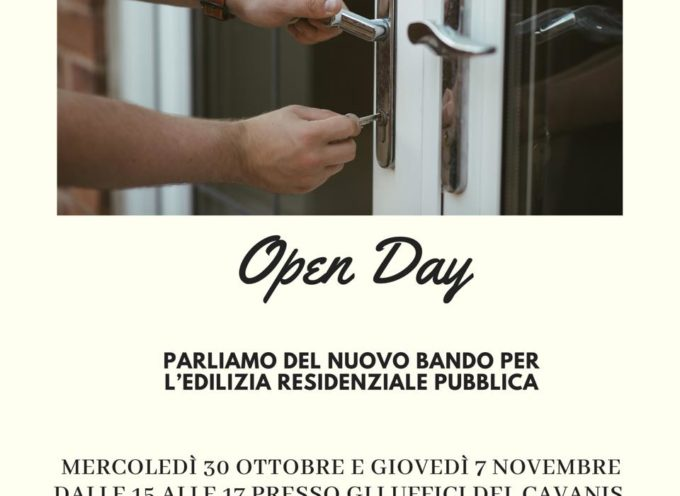 PORCARI – Per partecipare all'OPEN DAY NON è necessario un appuntamento.