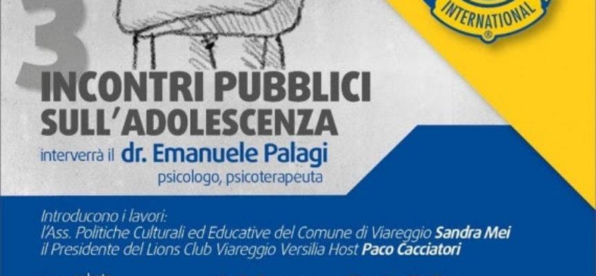 VIAREGGIO – INCONTRI PUBBLICI SULL'ADOLESCENZA