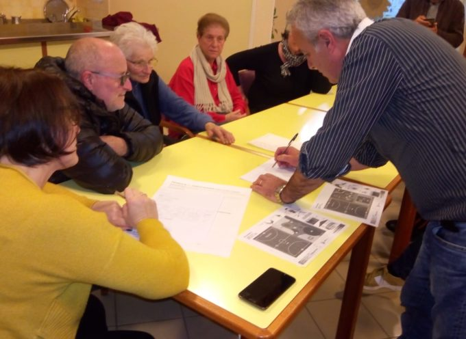 ieri sera tanti cittadini di Rughi hanno partecipato al secondo incontro di PorcariLab.