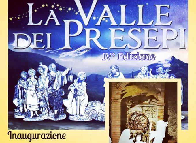 Inaugurazione de LA VALLE DEI PRESEPI, IVª edizione.. a Coreglia
