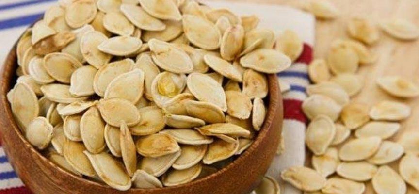 I preziosi semi di zucca.
