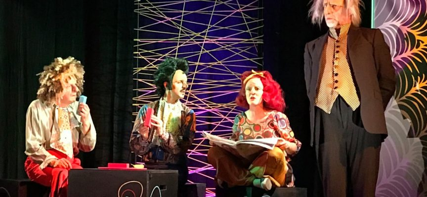 """al Teatro dei Rassicurati di Montecarlo, secondo spettacolo in concorso all'XI Festival Nazionale """"L'Ora di Teatro"""","""