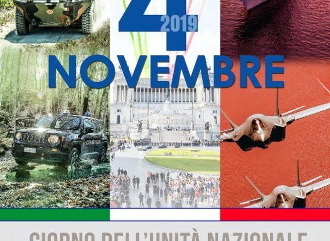 PORCARI – Oggi è il 4 novembre, giornata dell'Unità Nazionale e delle Forze Armate.