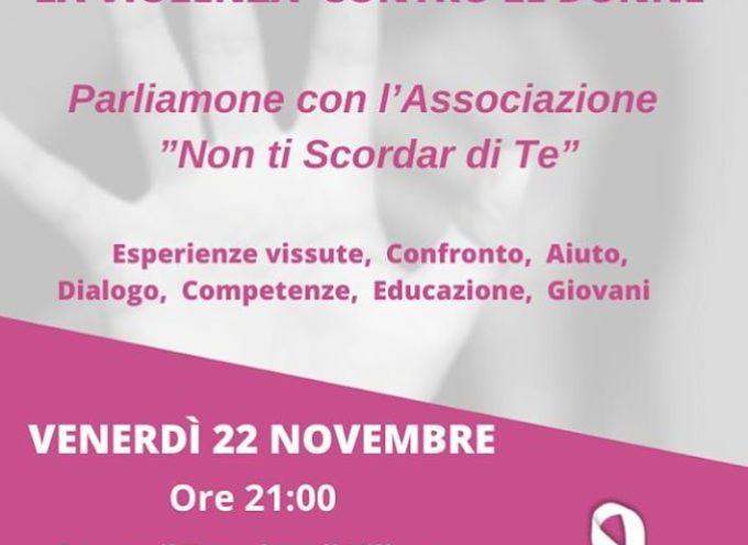 al Teatrino di Villetta San Romano, si terrà l'importante iniziativa LA VIOLENZA CONTRO LE DONNE.