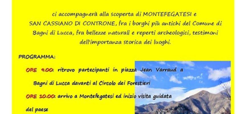 ALLA SCOPERTA di Montefegatesi e San Cassiano di Controne.. a Bagni di Lucca