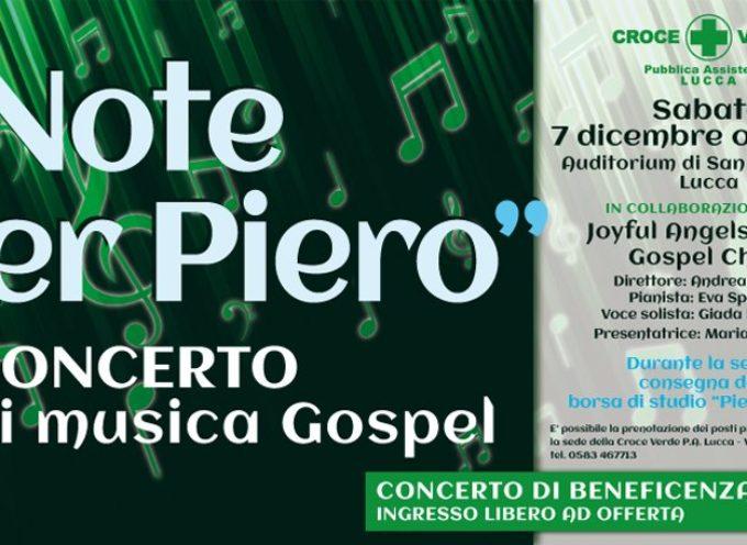 Torna la magia della musica gospel con Croce Verde P.A. Lucca!
