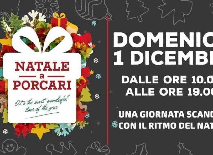 """Porcari si prepara a salutare l'inizio di dicembre con """"Natale a Porcari""""."""