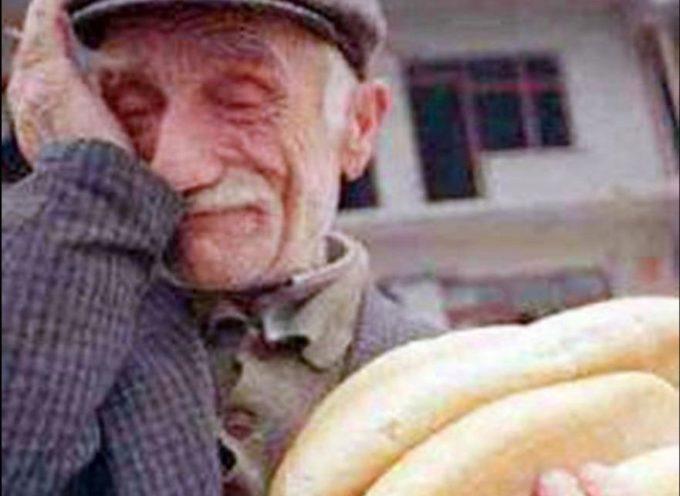 Un vecchio dovrebbe arrivare alla fine degli anni felice di avere accanto persone che gli dimostrano amore e felice